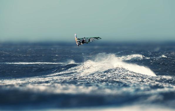 Picture sea, wave, Board