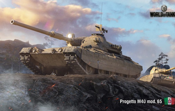 Picture WoT, World of Tanks, Wargaming, Progetto M40, Italian tank