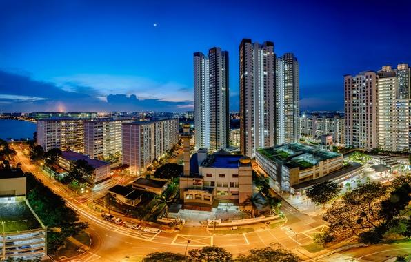 Picture Singapore, skyline, Singapore, Teban Garden, Jurong Town