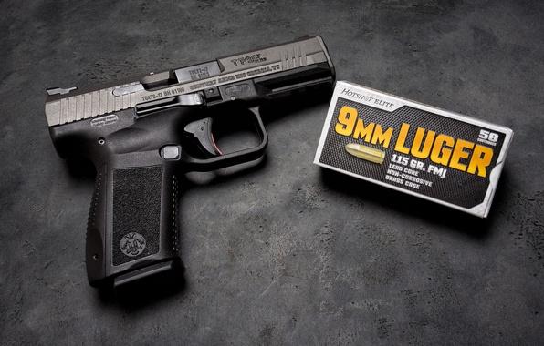 Picture gun, self-loading, CANIK TP9