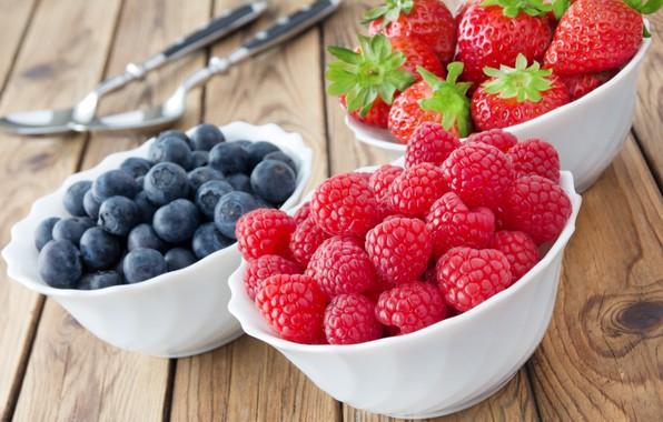 Picture berries, raspberry, blueberries, strawberry, strawberry, berries, raspberry, blueberries