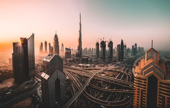 Picture the city, Dubai, Dubai, skyscrapers, UAE, UAE