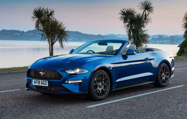 Picture Mustang, Ford, 2018, Convertible, Ecoboost