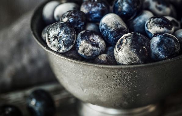 Picture macro, berries, food
