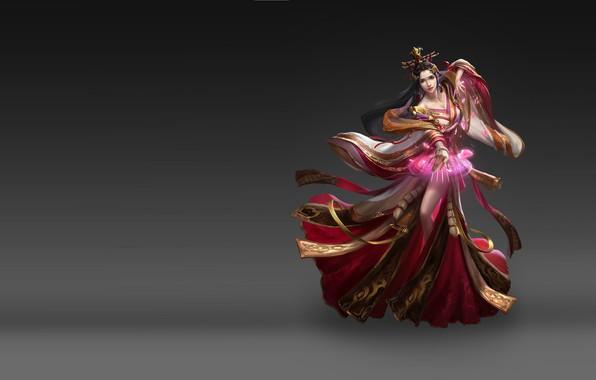 Picture the game, fantasy, art, illustrator, Skil, costume design, Qin Empire rise of the, li miao, …
