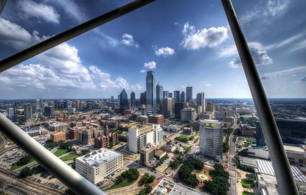 Picture the city, building, panorama, Dallas