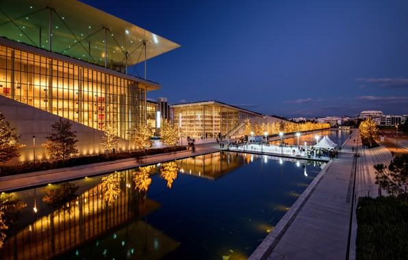Picture Greece, Athens, Athens, SNFCC