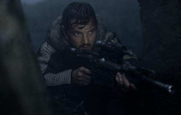 Picture cinema, Star Wars, gun, weapon, movie, sniper, captain, film, rifle, taichou, Rogue One: A Star …