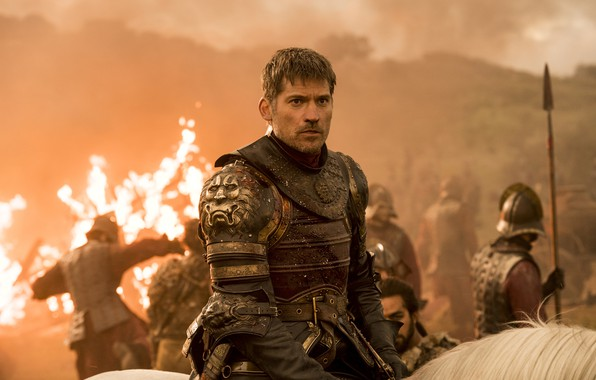 Picture fire, horse, battle, armor, army, battle, game of thrones, game of thrones, a song of …