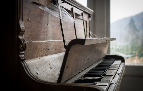 Picture music, web, piano