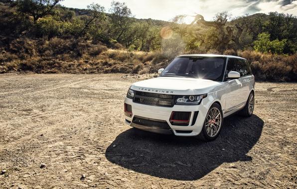 Picture Land Rover, Range Rover, Vorsteiner, crossover, range Rover, land Rover
