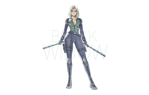 Picture Figure, Blonde, Costume, Hero, Superhero, Hero, Art, Art, Marvel, Blonde, Comics, Black Widow, Natasha Romanoff, …