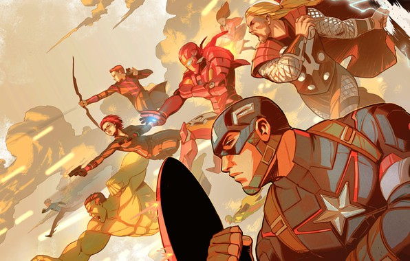 Picture Figure, Heroes, Costume, Bow, Vision, Heroes, Hulk, Superheroes, Hulk, Iron man, Shield, Iron Man, Marvel, …