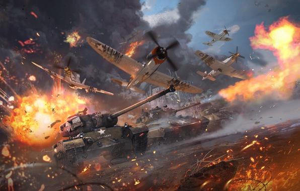 Picture Aviation, Tanks, War Thunder, Gaijin Entertainment, Patton