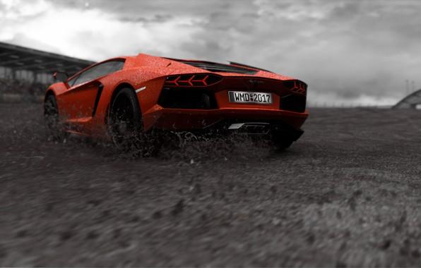 Picture lamborghini, lamborghini aventador, Project CARS 2
