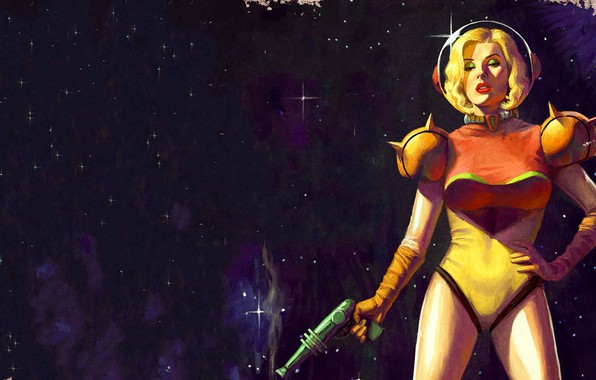 Picture Girl, The game, Space, Art, Samus Aran, Metroid, Samus Aran Metroid, Samus Aran