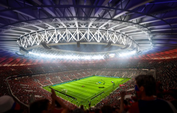 Picture football, stadium, 2018, The World Cup, FIFA 18