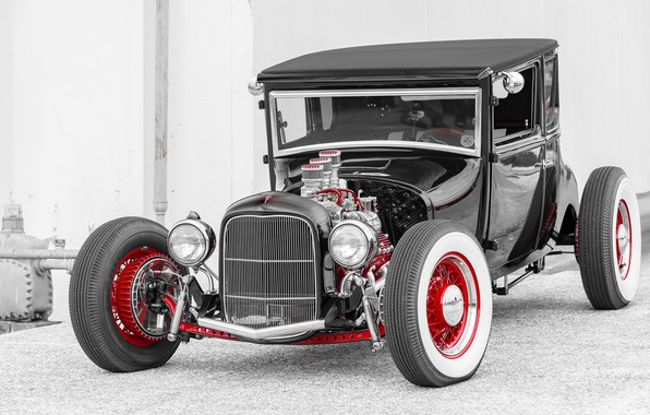 Picture car, Hot Rod, Hot rod, classic American