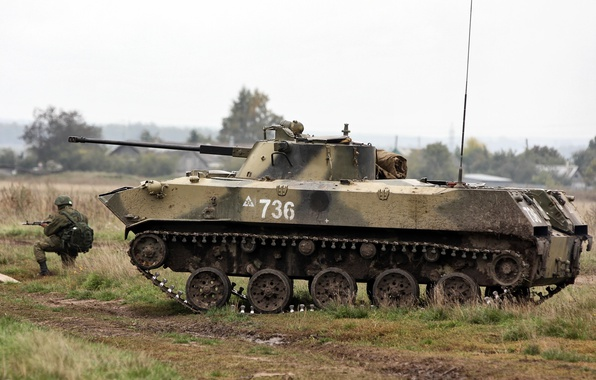Picture BMD-2, Russian airborne troops, doctrine of amphibious assault groups