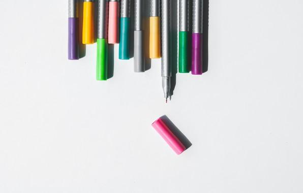 Picture purple, color, orange, green, grey, pink, green, color, colors, Orange, handle, purple, pink, art, Colour, …