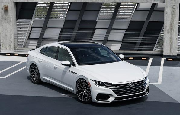 Picture Volkswagen, White, Vossen, Arteon, R-line