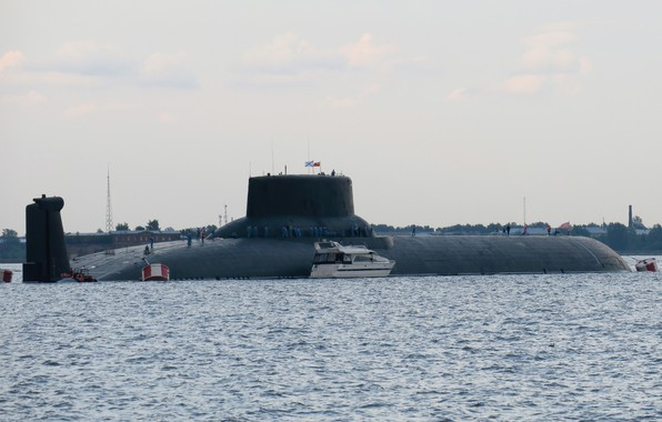 Picture shark, the project 941, Dmitry Donskoy, the world's largest submarine