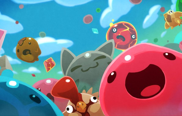 Picture The game, Game, Milota, Slime Rancher