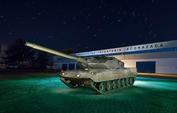 Photo wallpaper tank, Leopard, weapons
