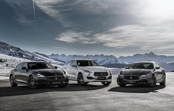 Picture Maserati, Quattroporte, GranTurismo, Maserati, Levante