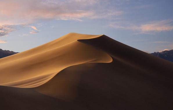 Picture Sand, Desert, Landscape, Mojave, macOS Mojave