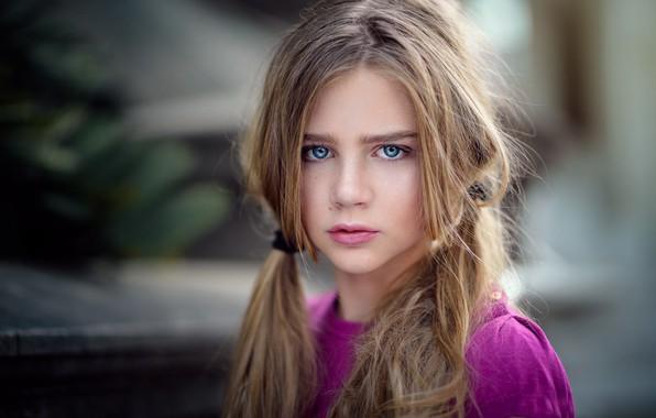 Picture portrait, girl, freckles, Natural Light Portrait, Zubair Aslam, Skyla