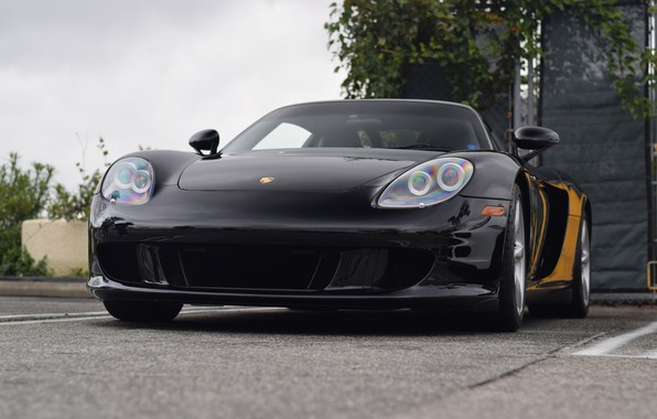 Picture Porsche, Black, Carrera