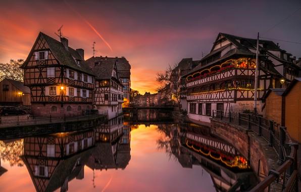 Picture river, home, Strasbourg