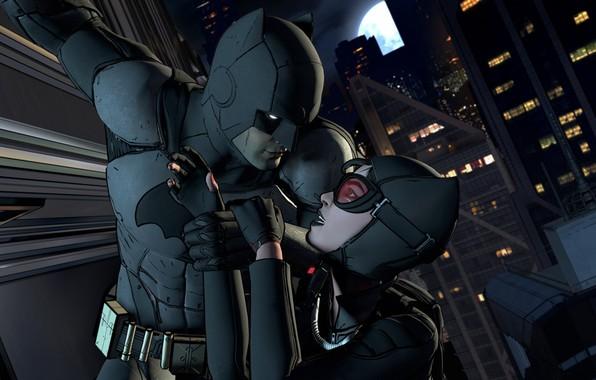 Picture batman, mask, game, catwoman, mask, DC Comics, uniform, Batman - The Telltale Series