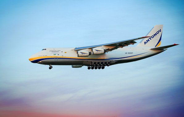 Picture The plane, Wings, Engines, Ukraine, Soviet, An-124, Ruslan, Antonov, 400, Flies, Antonov, Condor, Condor, Chassis, …