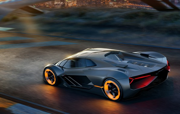 Photo wallpaper Concept, Lamborghini, supercar, The Third Millennium