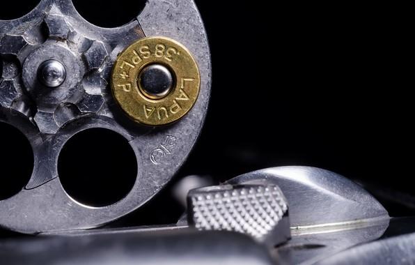 Picture cartridge, revolver, Russian Roulette