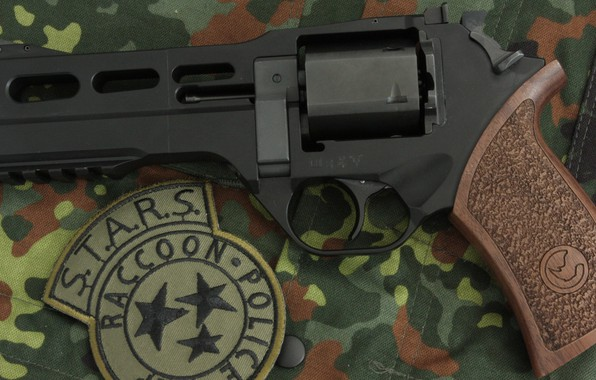 Picture weapons, revolver, weapon, revolver, Residen Evil, Rhino, S.T.A.R.S., Chiappa
