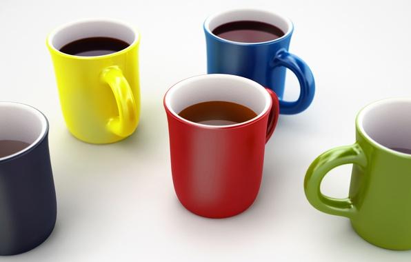 Picture tea, coffee, mug, Cup, drink, still life