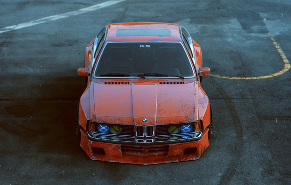 Picture BMW, Shark, Body, Tuning, Future, E30, Kit, Ligth, by Khyzyl Saleem