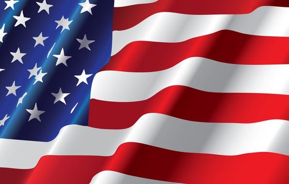 Picture stars, strip, flag, USA