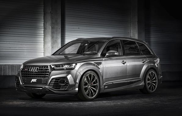 Photo wallpaper universal, Audi, Audi, ABBOT, quattro, SQ7