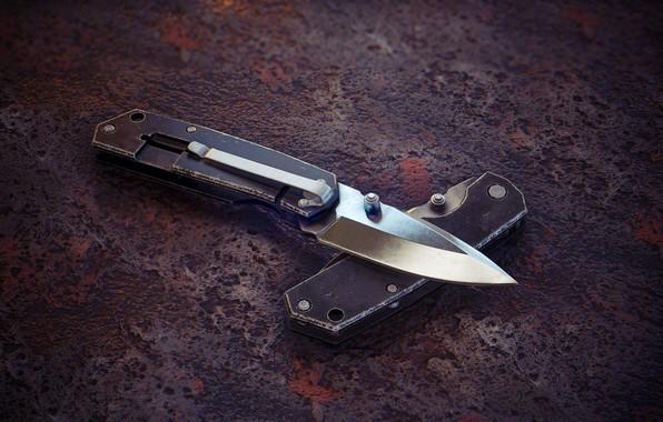 Picture art, knife, Martin Hoffmann, Schrade Knife sch303