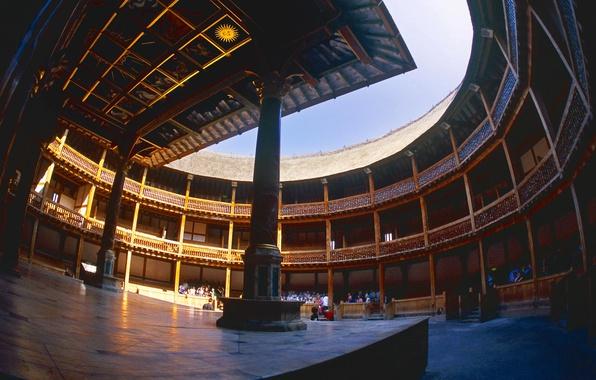 Picture England, London, theatre, Shakespeare's globe