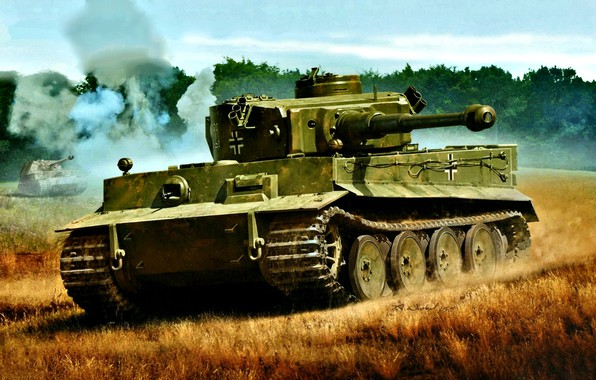 Picture Figure, Germany, tank, Heavy, The second World war, Tiger I, WWII, S. Pz.Abt 503, Pz.Kpfw.VI …