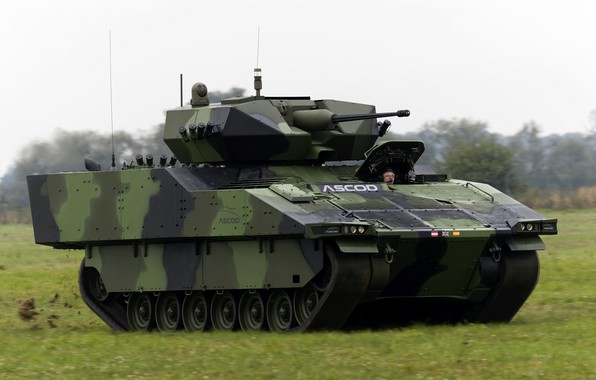 Picture infantry fighting vehicle, BMP, ASCOD