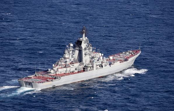 Wallpaper Strait, cruiser, heavy, atomic, rocket, Peter ...