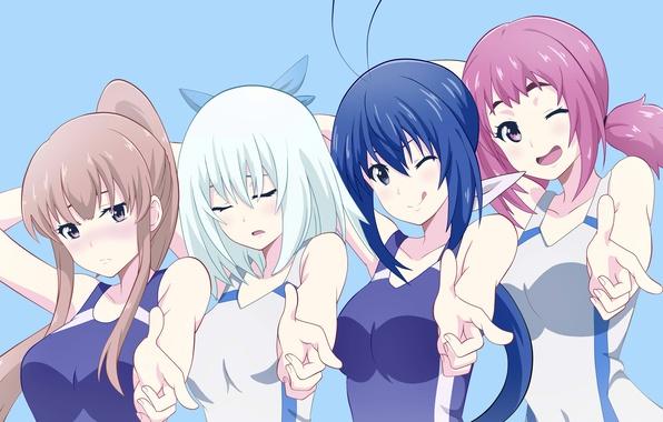 Picture sport, girl, game, girls, woman, anime, asian, manga, japanese, oriental, asiatic, Keijo!!!!!!, Keijo