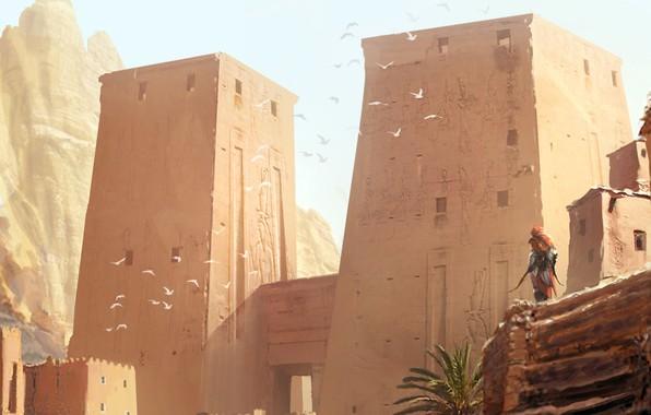 Picture Origins, village, Assassin's Creed, multi-platform video game, Hellenistic Egypt