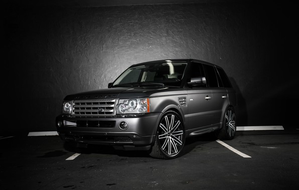 Picture wheels, Range Rover, body, Sport, lowered, trim, matched, Ruff Racing